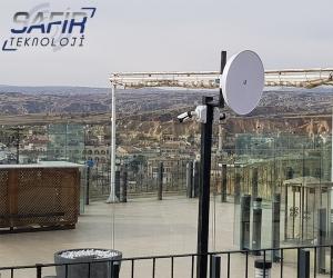 Ürgüp temenni otel kablosuz kamera aktarım sistemi